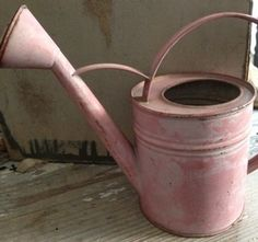 Image of Child Sized Vintage Watering Can...ooh would love a pink one