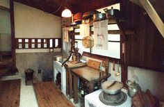 Satsuki and Mei's House in real life-kitchen