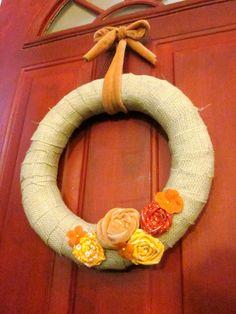 Mmmboppin': Fall Wreath