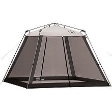 Shade tent with bug protection.