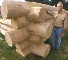 Building Log Homes Robert Chambers