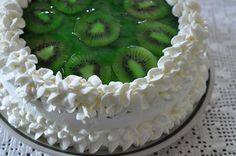 Lime Ribbon Cake
