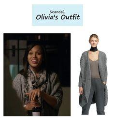 "On the blog: Olivia Pope's (Kerry Washington) oversize cocoon cardigan sweater | Scandal - ""No Sun on the Horizon"" (Ep. 313) #tvstyle #tvfashion #outfits #fashion #gladiators"