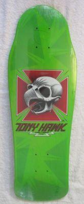 Tony Hawk (Powell Peralta) skateboard from the 80s