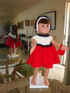 Ladyfingers - AG doll - Basic Holiday/Party Dress with Variations