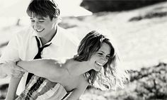 laughing, loving,