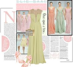 """""""Simply Perfect With Elie Saab"""" by the-freckled-gypsy on Polyvore"""
