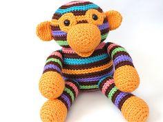 Amigurumi Owen the Monkey by Stacey Trock