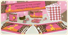 Giraffe Girl Baby Shower