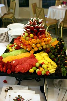 Colorful Fruit Display