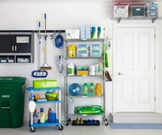 Make Use of Small Spaces - 49 Brilliant Garage Organization Tips, Ideas and DIY Projects