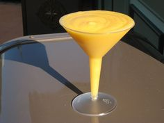 Best drink at Disney World! Grand Marnier Orange Slush Recipe served at France Drink Kiosk in EPCOT at Disney World will make me MORE thankful!