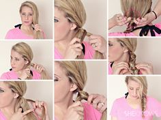 Hairstyle tutorials for wet hair - Page 4