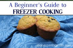 Ever wanted to learn the basics of freezer cooking? Great tips for the beginning freezer cook! chip muffin, chocolate chips, food, beginn guid, chocol chip, freezer cooking, recip, freezer meal, pumpkin chocol