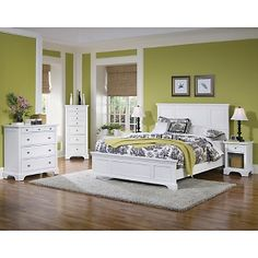 Home Styles Naples Queen Bedroom Set - Bed, Night Stand and Chest: Offered with FlexPay, so you can get it now, and pay over time.