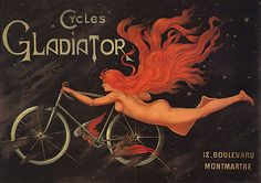 French bicycle ad