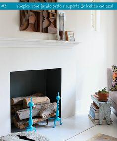 simple fireplace #decor #fireplace