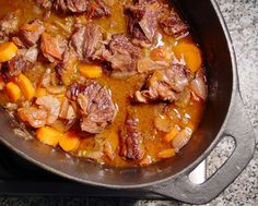 Beef Stew in Red Wine Recipe - Slow Cooker Beef Stew Recipe