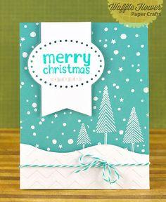 merry christmas card by Nina (waffleflower.com), via Flickr