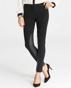 Equestrian Slim Ankle Pants