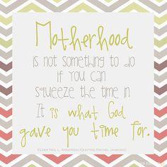 Motherhood quote from Elder Neil L. Andersen. LOVE this!