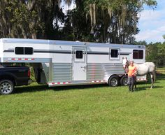 Thank you Mr. and Mrs. Rick Hughes of Micanopy, Florida on the purchase of your 2014 4-Star 2+1 Aluminum Trailer from LA Trailer Sales, LLC!! 800.350.0358