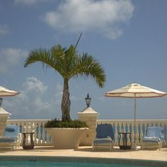 Bermuda. The view from our cabana. July 19, 2012, Tucker's Point Resort & Spa.