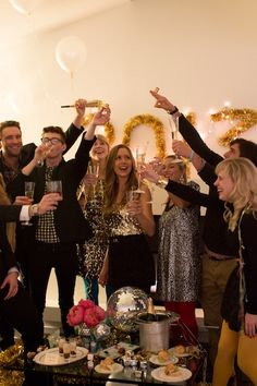 New Year's Eve Party with Kate Spade | Camille Styles