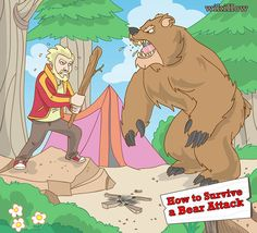 Hiking or camping this summer? Know how to Survive a Bear Attack!