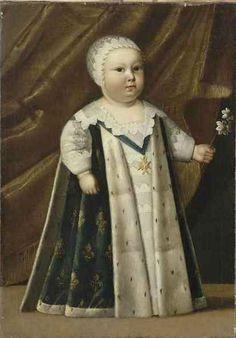 Louis-Dieudonné de France. Dauphin de France, futur Louis XIV. 1639
