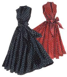 Georgina's Sunset Polka Dot Dress | The J. Peterman Company