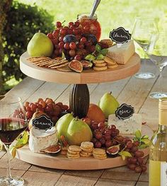 Two-tier lazy Susan