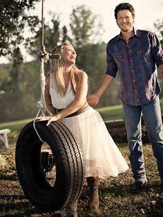Miranda Lambert & Blake Shelton -- true love