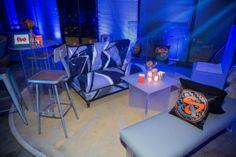 Bar Mitzvah Lounge #barmitzvah #mitzvahswag Party Favorites - Event Planning Resource - BAR MITZVAHS WEDDINGS BAT MITZVAHS SHOWERS SWEET 16s