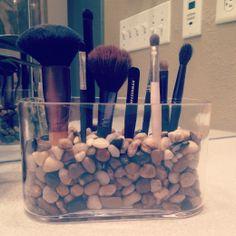 DYI Make-up Brush holder for under $10!