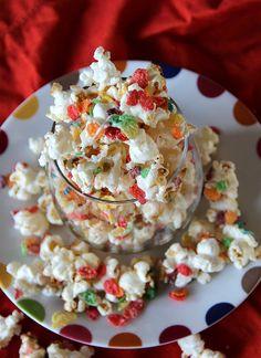 Fruity Pebble Kettle Corn. #Popcorn