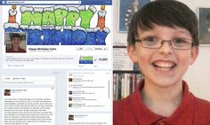Colin has Asperger's, and is not having a great time in school. A page created to help a mom wish her son a Happy 11th Birthday. His birthday is March 9th. You can send cards.  Address for Colin- PO box 756 Richland, MI 49083-0756   https://www.facebook.com/Coliniseleven  and like his Facebook page