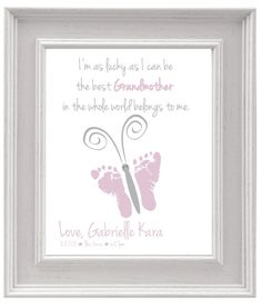 Personalized Mother's Day Gift for Grandma by PrintFusion on Etsy, $20.00