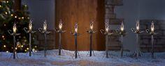 Candlestick Holiday Path Lights