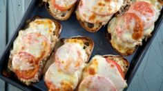Kicked-up Tuna Melts...we (my husband and I) love these! They are so ...