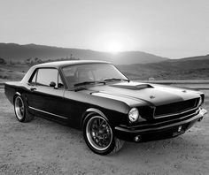 #FlashbackFriday: Words can't describe the beauty of this 1965 Mustang Fastback...