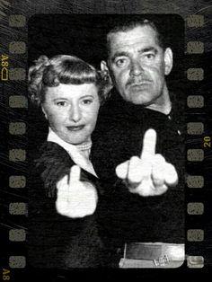 Barbara Stanwyck & Clark Gable