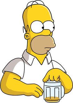 Homer Simpson. D'oh!
