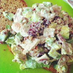 Lazy Chicken Salad Sandwich