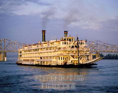Ride a steamboat on the Mississippi