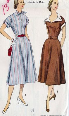 1950's Misses Dress