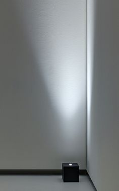BlackBlock LED floor light by DAVIDE GROPPI