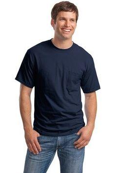 Hanes Men's Beefy-T w/Pocket $3.77 - $18.00