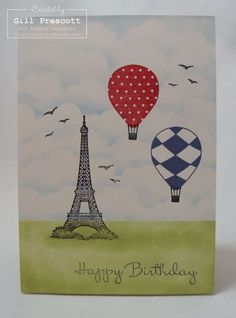 Stampin' Up! - up, up and away
