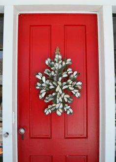 non-traditional wreath